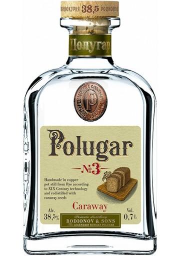 Vodka Polugar N°3 Caraway 0,70 lt.