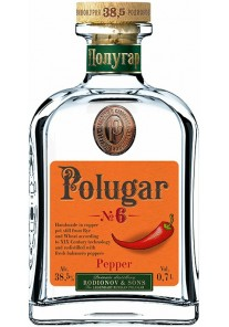 Vodka Polugar N°6 Pepper 0,70 lt.