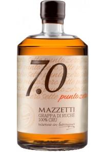 Grappa Mazzetti 7.0 Punto Zero di Ruche 100% Cru Barrique 0,70 lt.