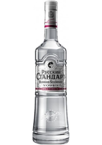 Vodka Russian Standard Platinum 0,70 lt.