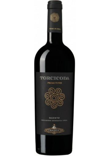 Primitivo del Salento Torcicoda Tormaresca 2016 0,75 lt.