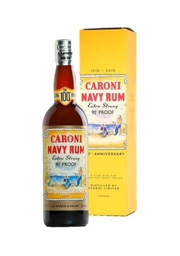 Rum Caroni Navy Rum Extra Strong 90° Proof 100th Anniversary 0,70 lt.