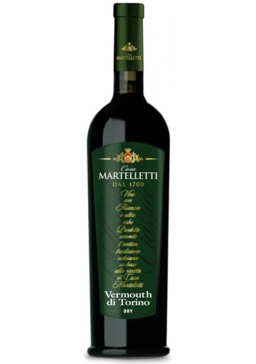 Vermouth Martelletti Dry 0,75 lt.