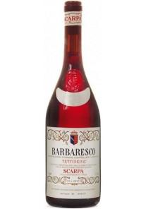 Barbaresco Scarpa Tettineive 2015 0,75 lt.
