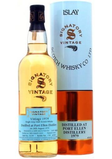 Whisky Port Ellen Single Malt Signatory Vintage 1979 0,70 lt.