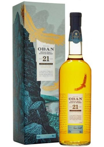 Whisky Oban Single Malt 21 Anni Limited Release 0,70 lt.