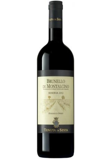 Brunello di Montalcino Tenuta di Sesta Riserva 2012 Duelecci Ovest 0,75 lt.