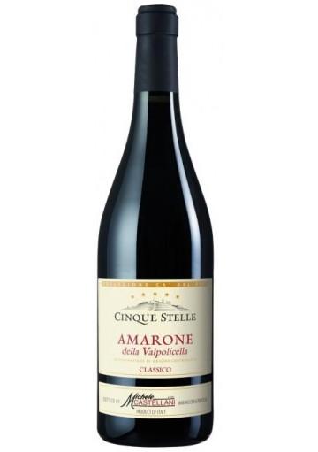 Amarone della Valpolicella classico Castellani Cinque Stelle 2013 0,75 lt.