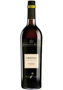 Sherry Medium Cristina Gonzalez Byass 0,75 lt.