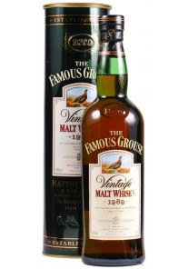Whisky Famous Grouse Malt 12 anni 1989 0,70 lt.