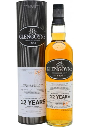 Whisky Glengoyne Single Malt 12 anni 0,70 lt.