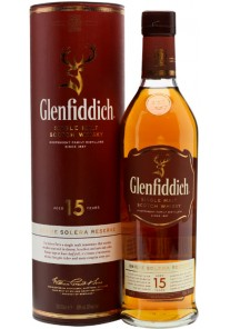 Whisky Glenfiddich Single Malt 15 anni Solera Reserve 0,70 lt.