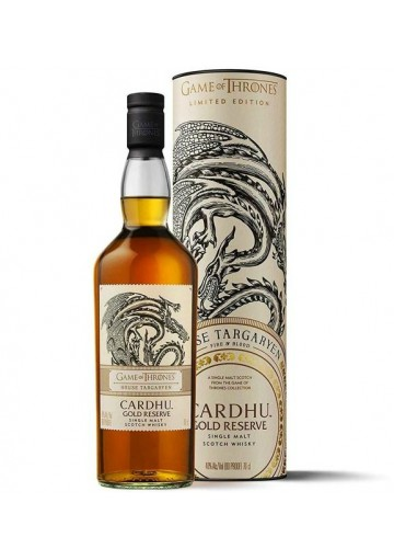 Whisky Cardhu Single Malt Gold Reserve Game Of Thrones Limited Edition 0,70 lt.