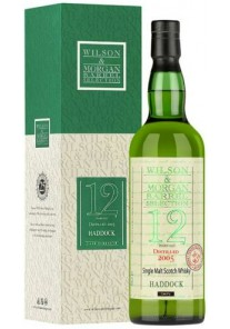 Whisky Haddock  12 Anni Wilson & Morgan 2005  0,75 lt.