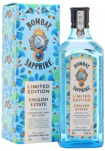 Gin Bombay Sapphire Limited Edition English Estate  0,70 lt.