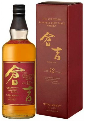 Whisky The Kurayoshi 12 Anni 0,70 lt.