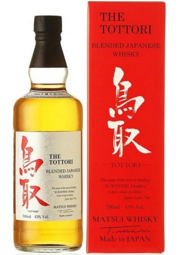 Whisky The Tottori Blended 0,70 lt.