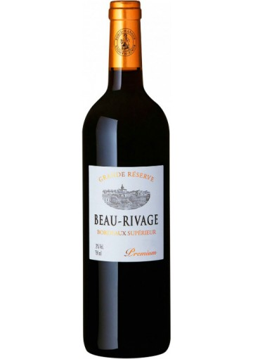 Bordeaux Supérieur Beau-Rivage Grande Réserve 2015  Premium 0,75lt
