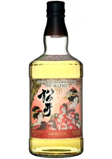 Whisky The Matsui Sakura Cask Single Malt 0,70 lt.