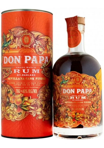 Rum Don Papa MT. Kanlaon Sevillana Cask Finish  0,70 lt.