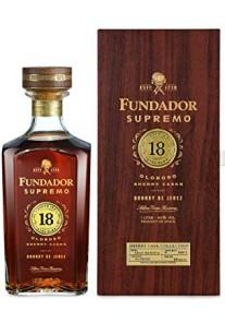Brandy Fundador Supremo 18 Anni Sherry Cask  0,70 lt.