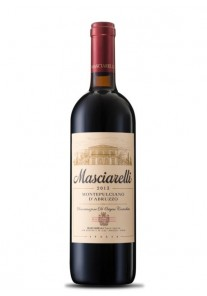 Montepulciano d\'Abruzzo Masciarelli 2018  0,75 lt.