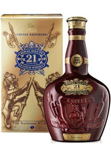 Whisky Chivas Royal Salute 21 anni old edition 0,70 lt.