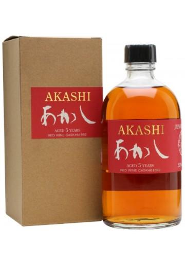 Whisky Akashi Red 6 Anni 0,50 lt