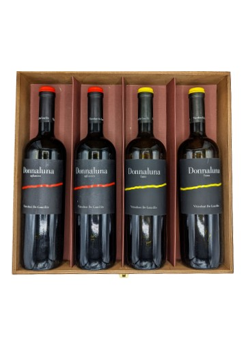 2 Aglianico Donnaluna + 2 Fiano Donnaluna
