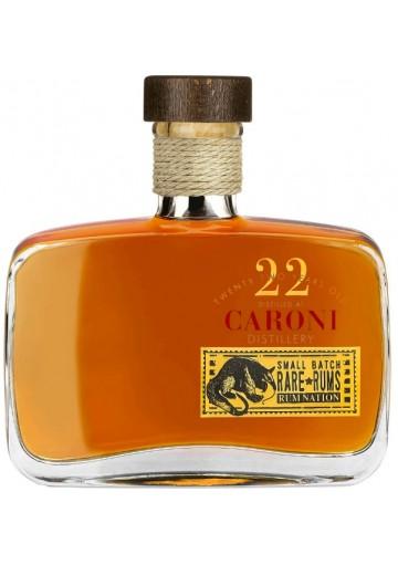 Rum Caroni Trinidad Rum 22 Anni Rare Rums - Rum Nation  0,70 lt.
