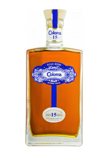 Rum Coloma 15 anni 0,70 lt.