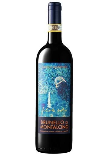Brunello di Montalcino Castello Romitorio Filo di Seta 2016  0,75 lt.