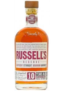 Whiskey Bourbon Russell\'s Reserve 10 anni 90 Proof  0,70 lt.