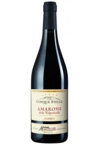 Amarone della Valpolicella classico Castellani Cinque Stelle 2016  0,75 lt.