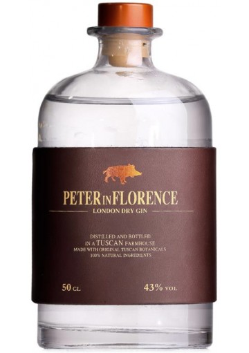 Gin Peter in Florence 0,50 lt.