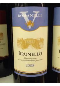 brunello romanelli v 2008 0,75 lt.