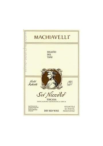 Ser Niccolo Machiavelli Ris. 1997 0,75 lt.
