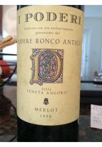 Merlot I Poderi Tenuta Angoris 1996 0,75 lt.