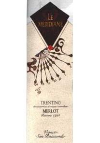 Merlot Le Meridiane Vigneto San Raimondo Ris. 1997 0,75 lt.