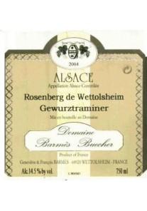 Gewurztraminer Barmes Buecher Rosenberg de Wettolsheim 2000 0,75 lt.