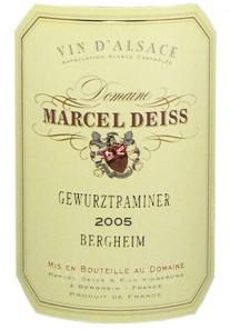Gewurztraminer Bergheim Marcel Deiss 1997 0,375 lt.