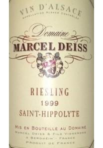 Riesling Saint Hippolyte Marcel Deiss 1996 0,375 lt.