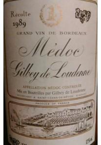 Medoc Gilbey de Loudenne 1981 0,75 lt.