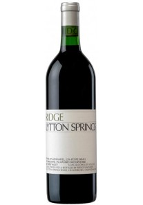 Ridge Lytton Springs 1998 0,75 lt.