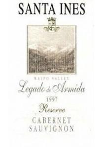 Cabernet Sauvignon Santa Ines Legado Ris. 2001 0,75 lt.