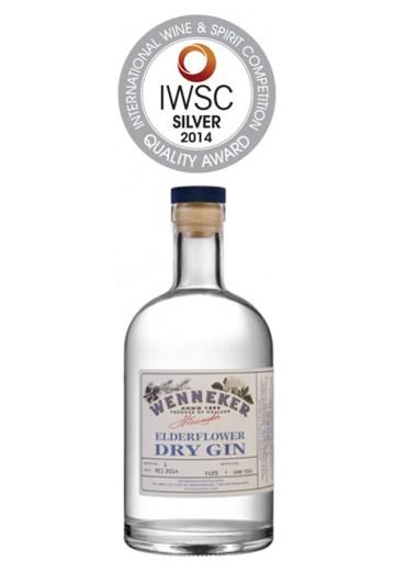 Gin Wenneker Elderflower  0,70 lt.