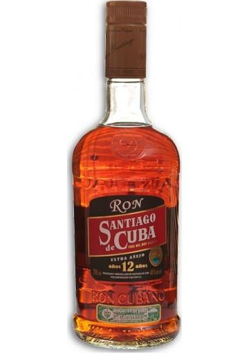Rum Santiago de Cuba extra Anejo-12 anni 0,70 lt.