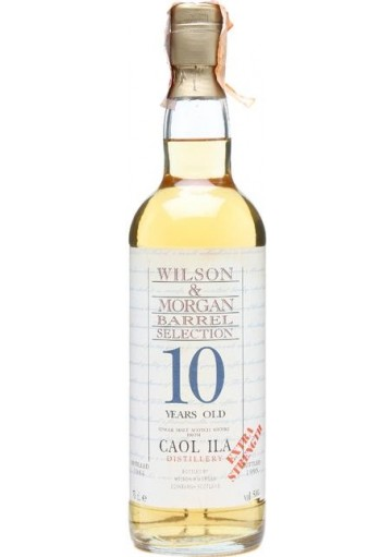 Whisky Caol Ila Single Malt 10 anni Wilson & morgan  0,700 lt.