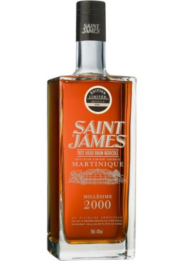 Rum Saint James Millesime 2000 1,0 lt.