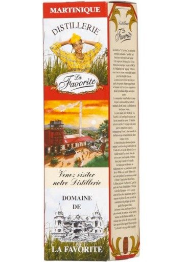 Rum La Favorite Agricol Vieux Martinica 1990 0,70 lt.